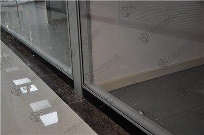 单玻磨砂玻璃隔断