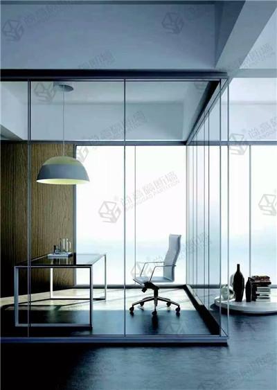 如何辨别办公室玻璃隔断质量的好坏?