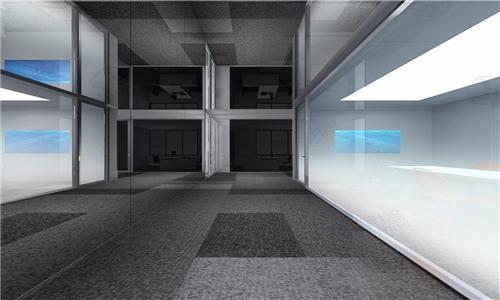玻璃全景走廊