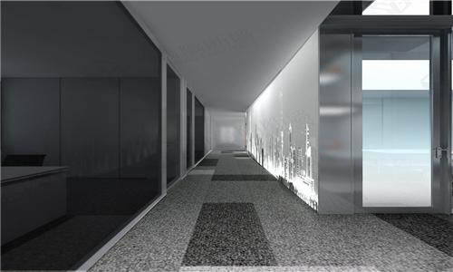 彩釉画走廊
