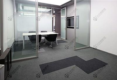 防火与美学相结合的办公室防火玻璃隔断